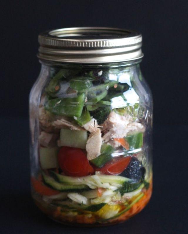 Mason Jar Salad 1