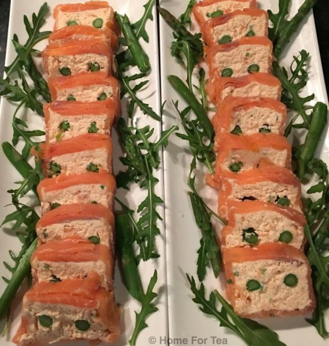 Smoked salmon & asparagus terrine 2